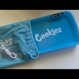 Blue Cookies Rolling Glow Tray